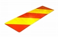 Rear Reflective Marking Plate for Heavy