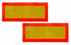 Long Vehicle Rear Reflective Marker Board