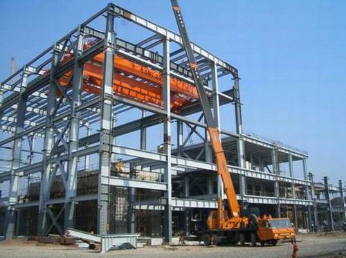 Steel Structure For Power Plant Industry Wanlong Steel