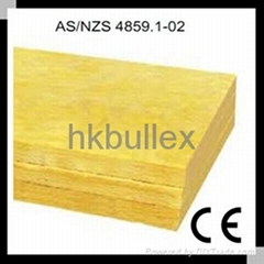 Glass wool heat insulation material