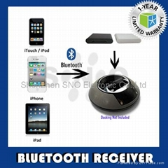 Stereo Audio Bluetooth Receiver for iPod/iPhone