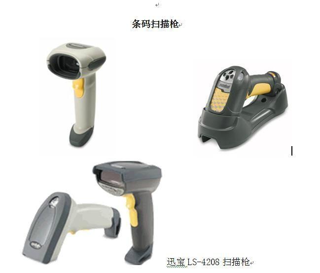 供應掃描槍 1