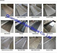 Natural Colored Granite Countertops