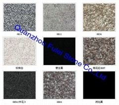 Colored Granite Tile Floorings