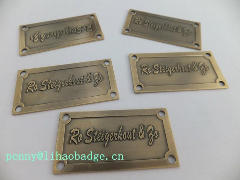 metal logo plate metal labels metal tags lihao nl 1 On metal tags for crafts