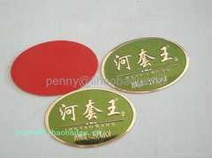 stainless steel l   age tag,badge tags