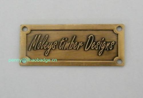 metal logo/plate,metal labels,metal tags 5