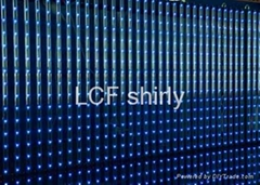 P33mm Indoor LED Video Curtain Screen Display for Stage Background