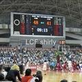 Basketball scoreboard LED display
