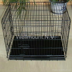 Dog Puppy Pet small 24'Cage Folding Carrier Crate