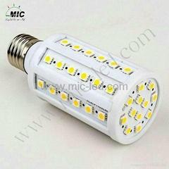 MIC B22 5W 110V 108 LED Corn Light Energy Saving Bulb Warm White Lamp LED Bulbs