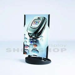 Black Panda Base Signboard/Banner Stand for Outdoor