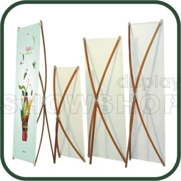 Bamboo X-Banner Stand 1