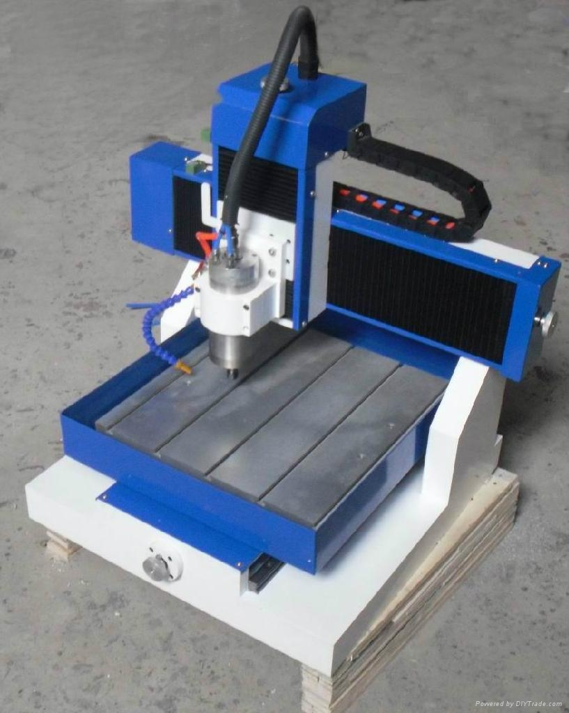 Table Top Aluminum Milling Drilling Cnc Router Machine Sm