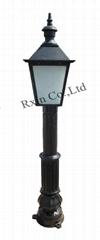 1.45m Cast Iron Lamp Post
