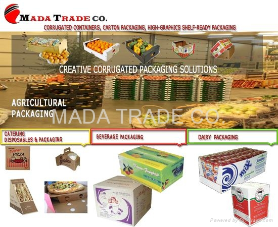 Corrugated Box & Corrugated board (Egypt Manufacturer) - Packaging