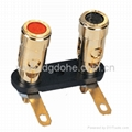 audio parts brass binding post connector