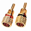 audio component binding post with gold plating 4