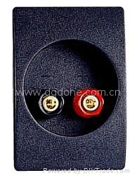audio accessory terminal cups ABS material 4
