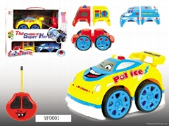 Remote control cartoon car