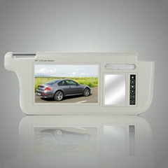 7Inch Sun Visor Monitor with touch pads