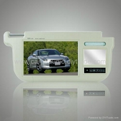 9Inch Sun Visor Monitor with touch pads