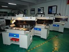 LED灯管专用半自动锡膏印刷机