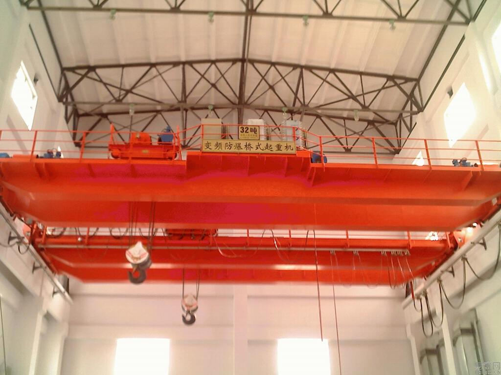 双梁起重机  50吨桥式起重机