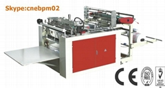 DOUBLE SERVO MOTOR CONTROL T-SHIRT BAG MAKING MACHINE