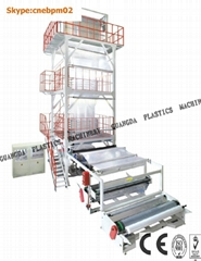 LD/LLDPE HIGH SPEED BLOWN FILM MACHINE