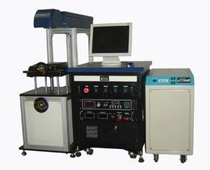 YAG灯泵浦激光打标机 1