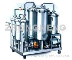 Phosphate Ester Fire-Resistant Oil Regeneration