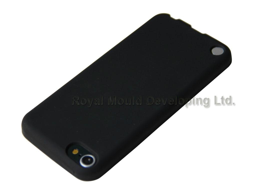 black silicone case for ipod touch 3