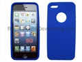 Fingerprint silicone case for iphone 5