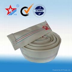 PVC flexible fire fighting hose