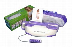 Hot double kneading&vibrating slimming belt
