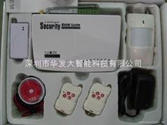 家用电话拨号短信防盗报警器