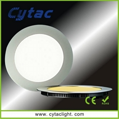 Epistar 5050 6.4w or7.8w LED small round panel RGB lights
