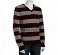 forest cashmere v neck sweater 1