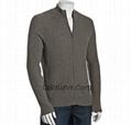 forest cashmere v neck sweater 2
