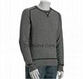 forest cashmere v neck sweater 3