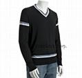 forest cashmere v neck sweater 4