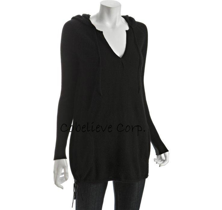 coral cashmere sleeve crewneck sweater 2