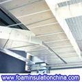 Polyurethane Foam Pre Insulated Hvac Duct Gn P01 Green
