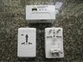 多功能带USB转换旅游充电器
