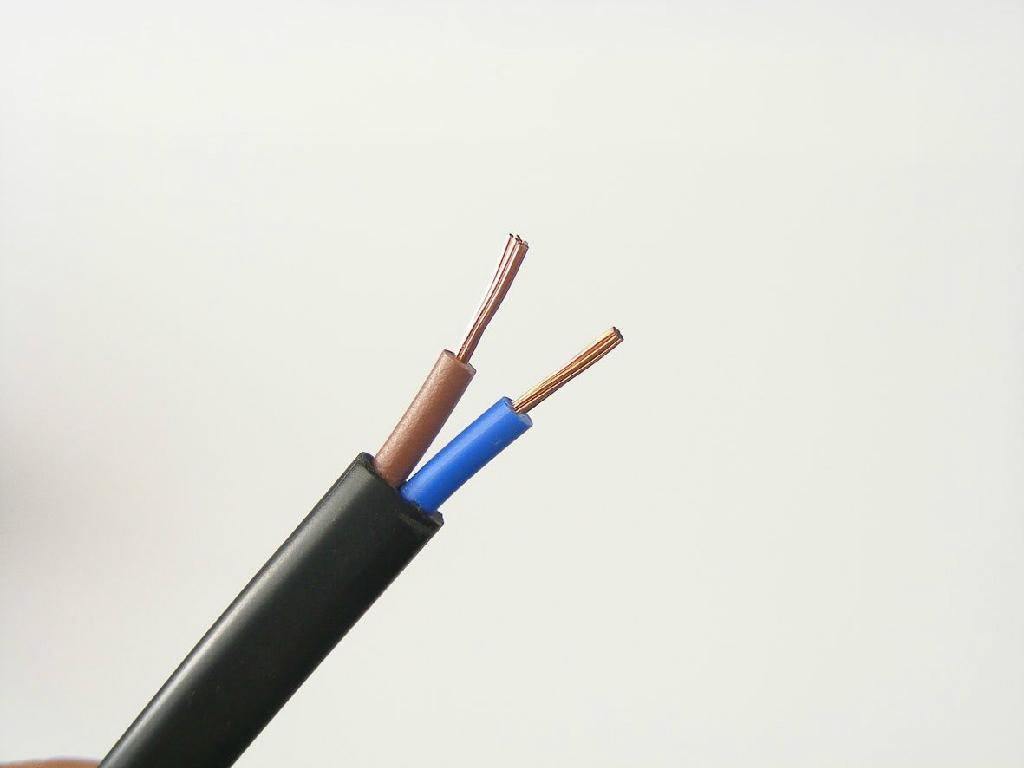 Electrical Cable Product : Flat bvvb electrical wiring zhenhua oem china