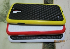 Wholesale Dual Colors case bumper of Samsung galaxy S4, Note II, S3 SIII Case (Hot Product - 3*)