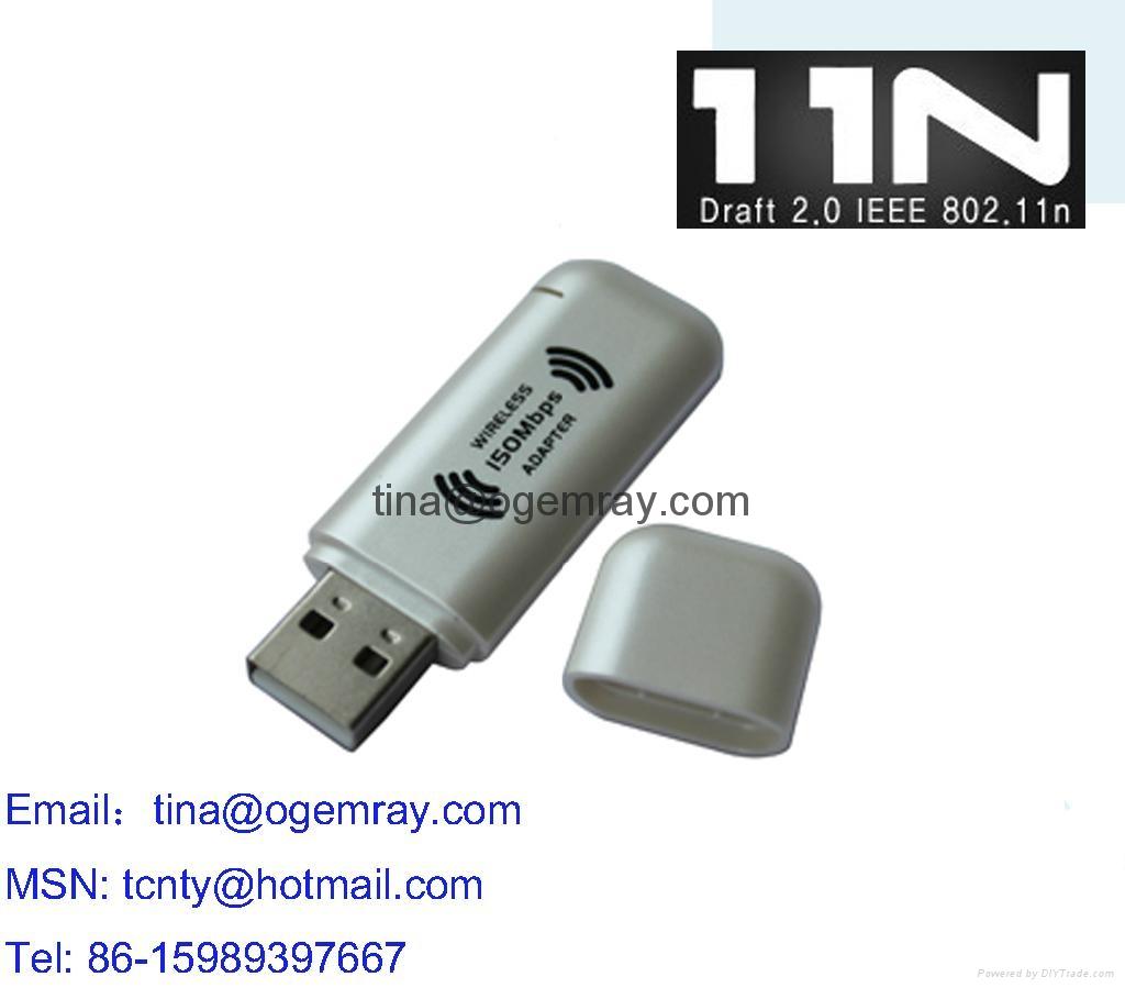 Nano USB WiFi Adapter 5