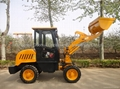 0.6T mini wheel loader with CE approved