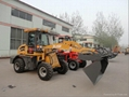 1.5T loader with 4 in 1 bucket